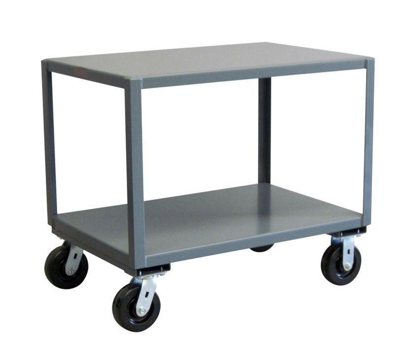 Heavy duty utility carts steel utility cart with wheels - The mobile office working on two wheels ...