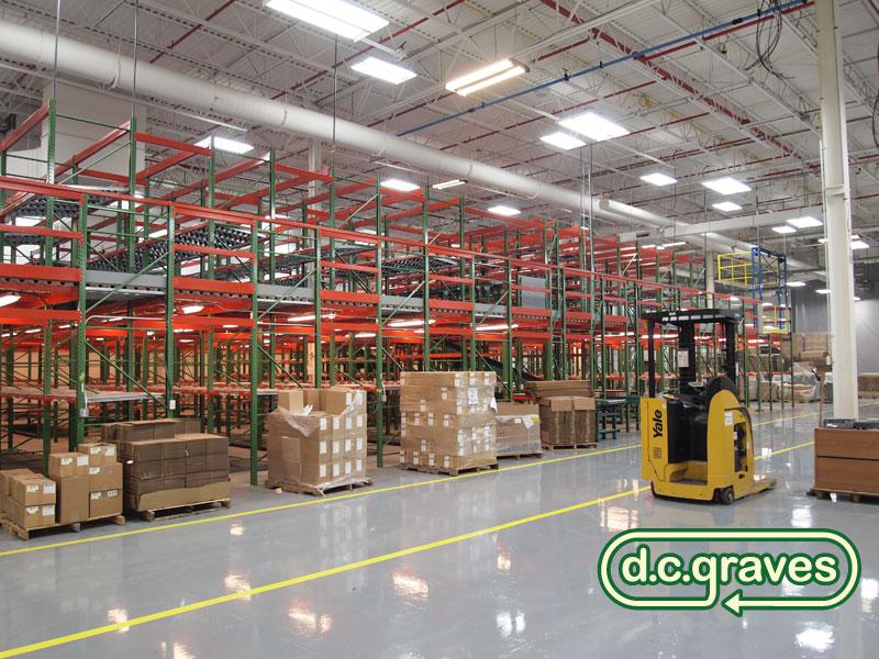 Material Handling Installation Pallet Rack Installation
