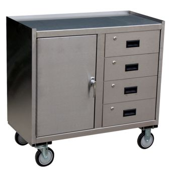 Stainless Steel Drawer Cart