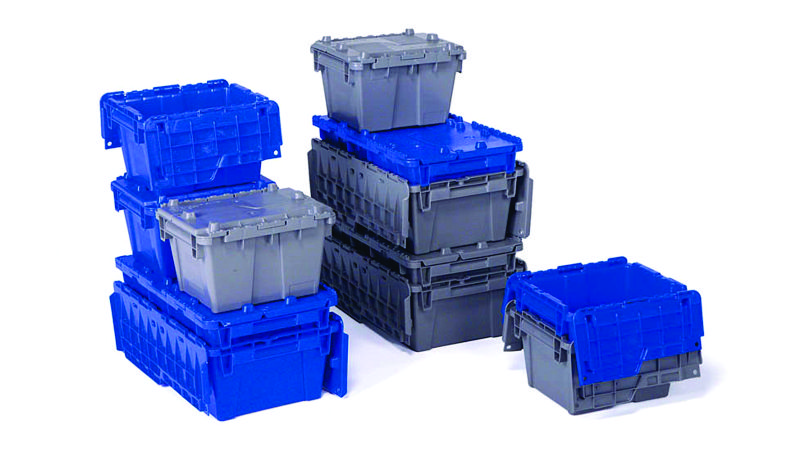 Attached Lid Container Plastic Storage Containers With Lids