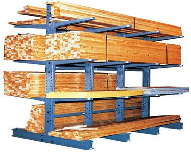 Lumber Storage Racks   Cantilever Racks for Lumber
