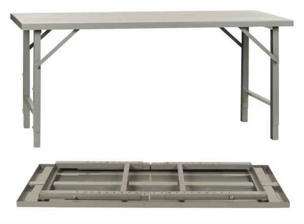 folding work tables | heavy duty folding table | steel workbenches