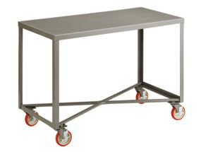 Exceptional Single Shelf Mobile Table