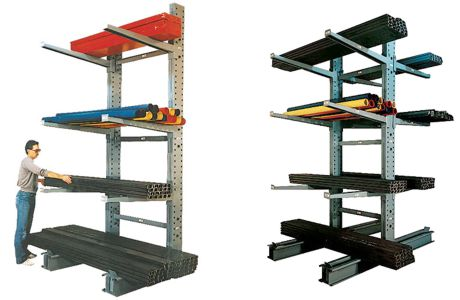 cantilever storage rack