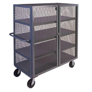 a6ba4105d7d Series SD - Mesh Security Cart w  Four Security Shelves