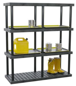 Industrial Shelving Systems Heavy Duty Plastic Shelving