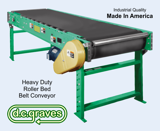 Roller Bed Belt Conveyor
