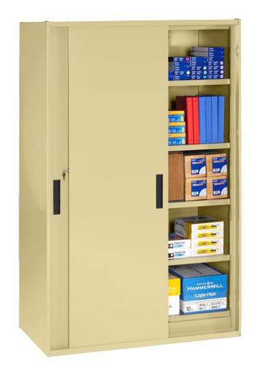 Sliding Door Storage Cabinet Metal Storage Cabinet For Sale