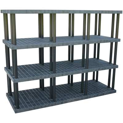 plastic heavy duty shelving plastic stacking shelves. Black Bedroom Furniture Sets. Home Design Ideas